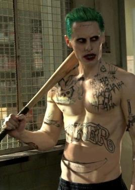 Jared Leto sebagai Joker dalam Suicide Squad (Sumber gambar : Google image)